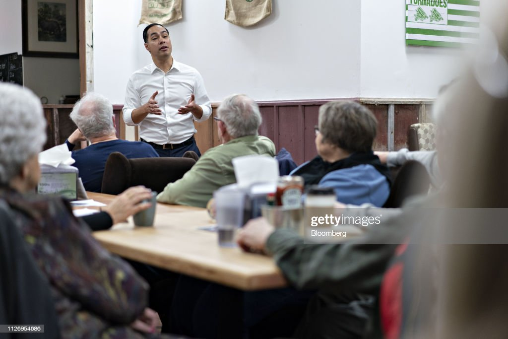 IA: Former HUD Secretary Julian Castro Makes Iowa Campaign Stop
