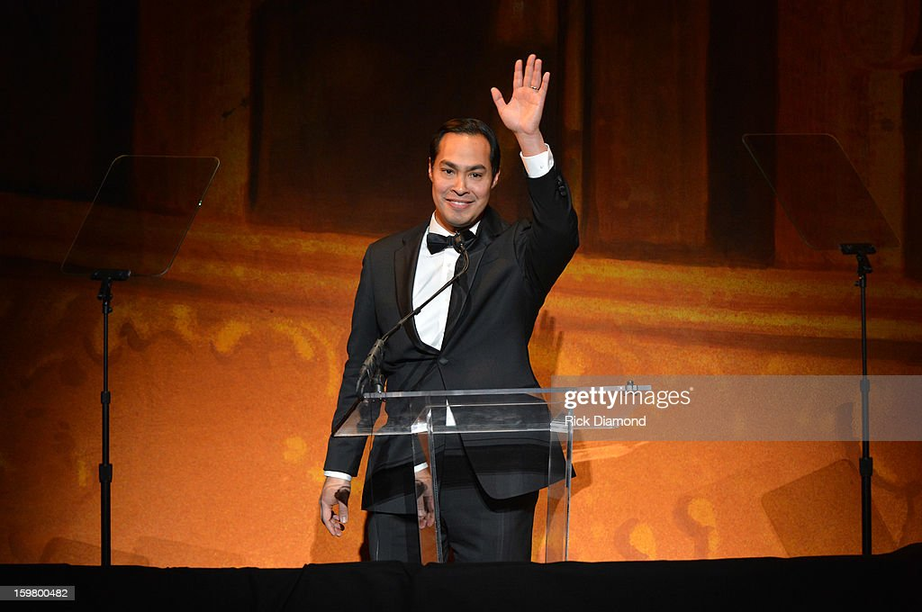 Julian Castro speaks onstage at Latino Inaugural 2013: In Performance at Kennedy Center at The Kennedy Center on January 20, 2013 in Washington, DC.