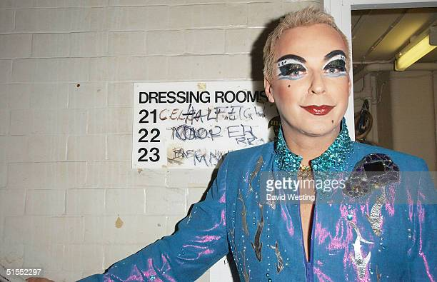 Julian Clary hosts the 'Alternative Miss World' the Club Cirque on October 22 2004 in London A panel of judges choose one winner from fifteen...