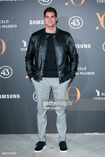Julian Contreras attends the 'Yo Dona' party that inaugurates MercedesBenz Fashion Week Madrid Autumn/ Winter 2017 at Barcelo Torre de Madrid Hotel...