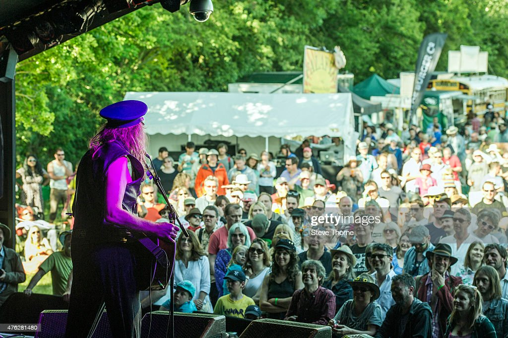 Julian Cope performs at the Lunar Festival on June 7, 2015 in Tanworth-in-Arden, United Kingdom