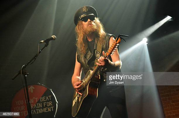 Julian Cope performs live on stage at Village Underground on January 29 2015 in London United Kingdom
