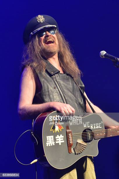 Julian Cope performs live on stage during the 'In The Round' series at the Roundhouse on February 4 2017 in London United Kingdom