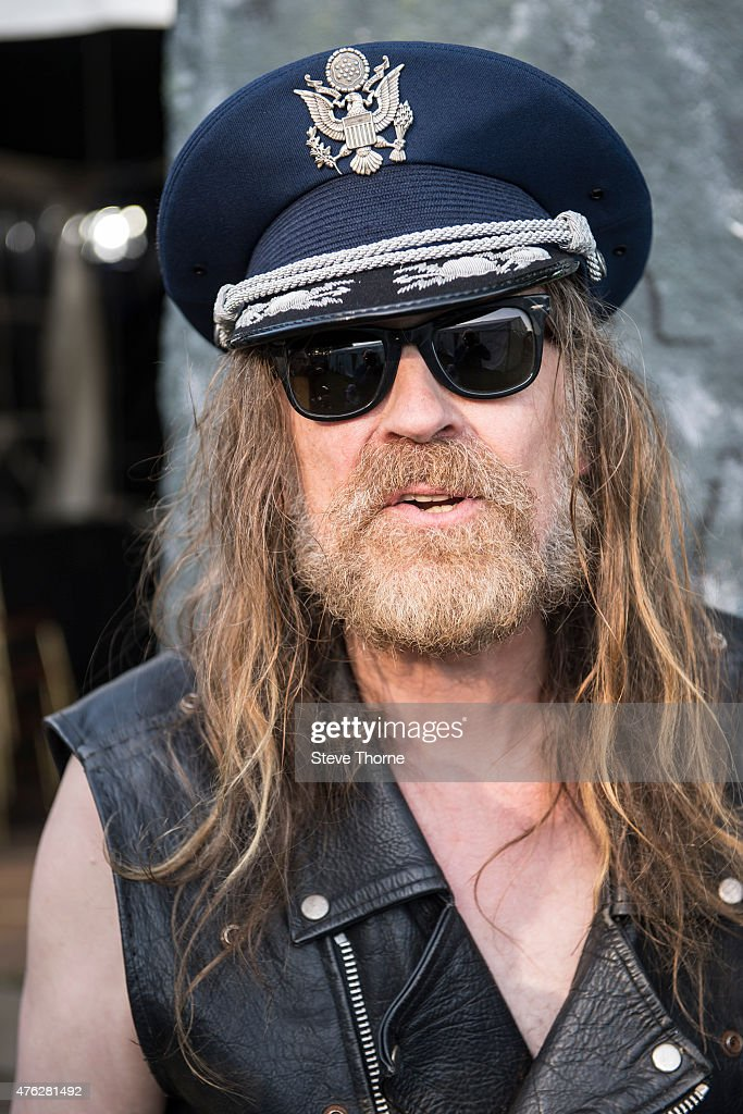 Julian Cope poses backstage at the Lunar Festival on June 7, 2015 in Tanworth-in-Arden, United Kingdom