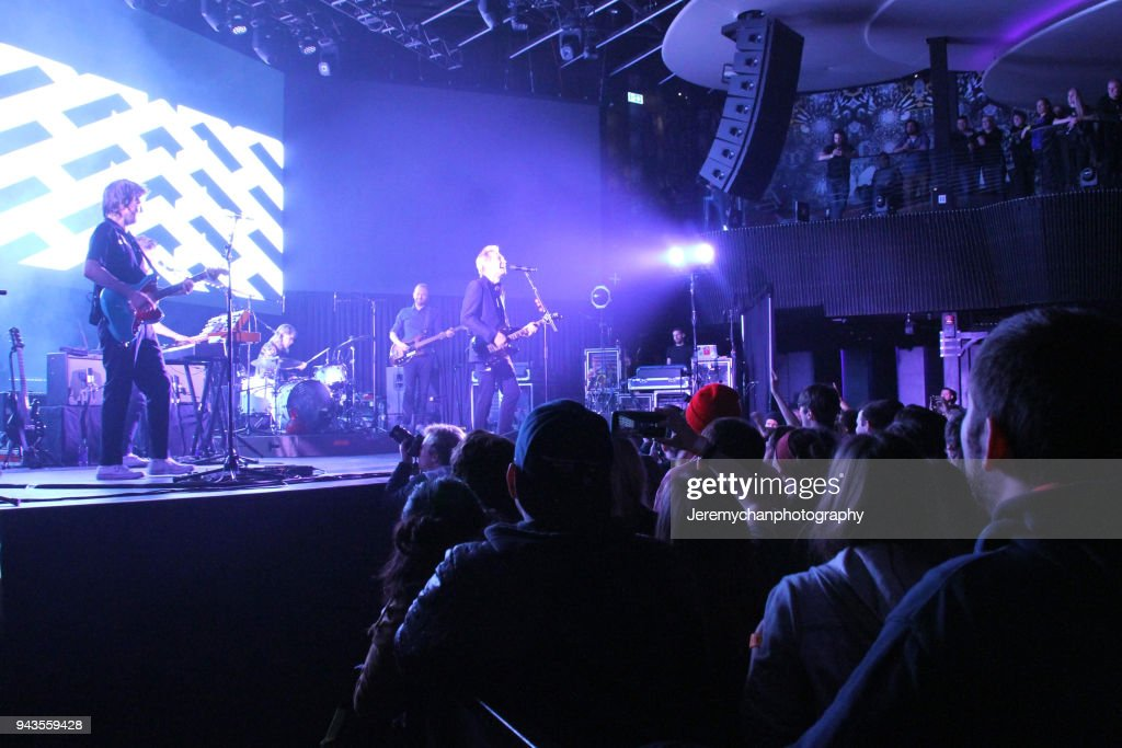 Franz Ferdinand Performs At Rebel : News Photo