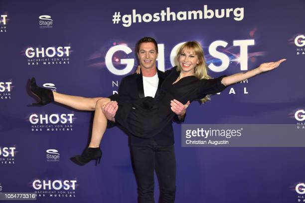 Julian David and Susanne Klehn attend the premiere of the musical 'Ghost The Musical' at Stage Operettenhaus on October 28 2018 in Hamburg Germany