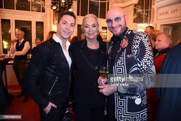 Julian David Anja Hauptmann Ralph Morgenstern during the Artists Against Aids Gala at Stage Theater des Westens on November 19 2018 in Berlin Germany