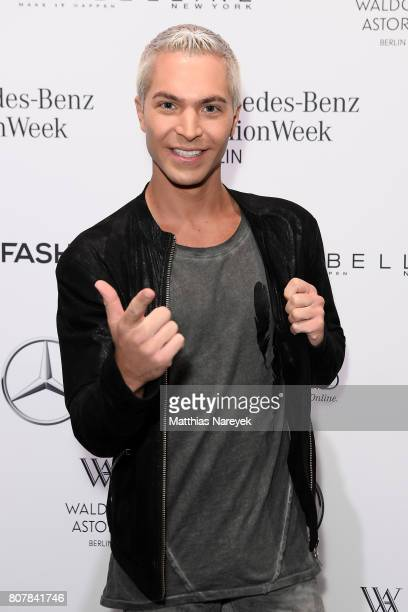 Julian David attends the Ewa Herzog show during the MercedesBenz Fashion Week Berlin Spring/Summer 2018 at Kaufhaus Jandorf on July 4 2017 in Berlin...