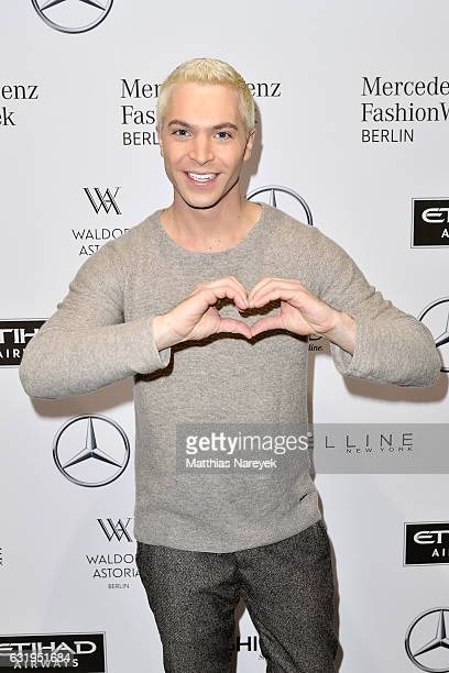 Julian David attends the Sportalm show during the MercedesBenz Fashion Week Berlin A/W 2017 at Kaufhaus Jandorf on January 18 2017 in Berlin Germany