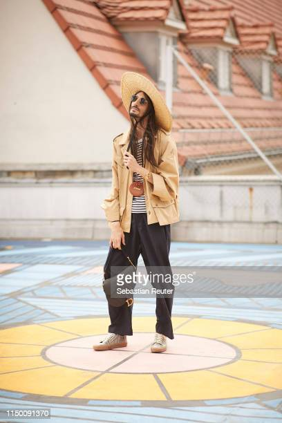 Julian Daynov attends the Reference Festival on May 18 2019 in Berlin Germany