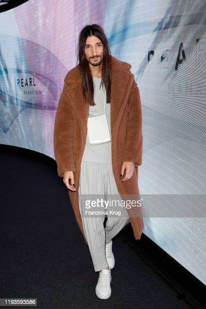 Julian Daynov during the PEARL Model Management Fashion Aperitif at The Reed on January 13 2020 in Berlin Germany