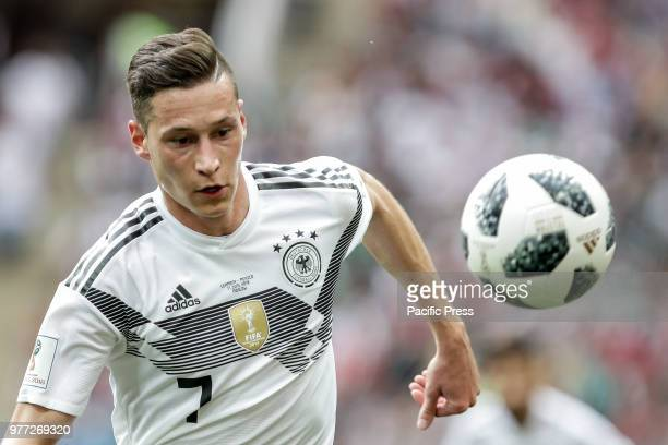 Julian Draxler during the match between Germany and Mexico valid for the first round of group F of the 2018 World Cup held at the Luzhniki Stadium...