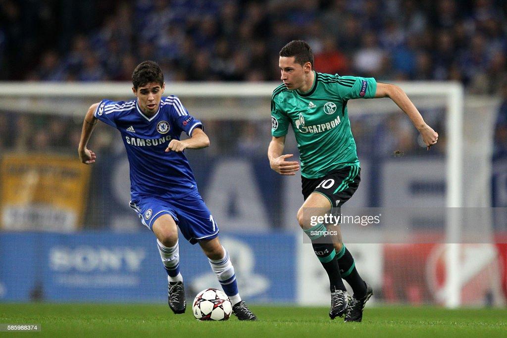 Soccer - UEFA Champions League - Schalke vs. Chelsea : News Photo