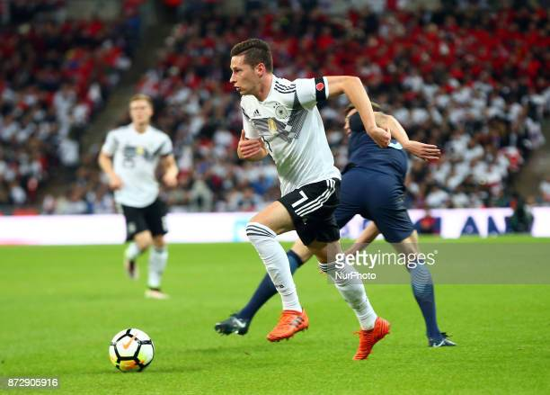 Julian Draxler of Germany during International Friendly match between England and Germany at Wembley stadium London on 10 Nov 2017 during...