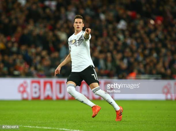 Julian Draxler of Germany during International Friendly match between England and Germany at Wembley stadium London on 10 Nov 2017