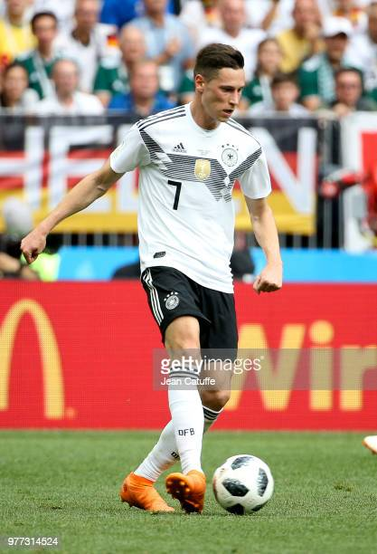 Julian Draxler of Germany during the 2018 FIFA World Cup Russia group F match between Germany and Mexico at Luzhniki Stadium on June 17 2018 in...
