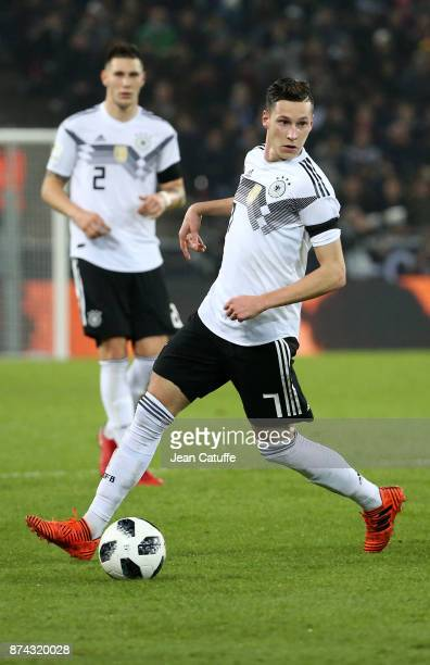 Julian Draxler of Germany during the international friendly match between Germany and France at RheinEnergieStadion on November 14 2017 in Cologne...