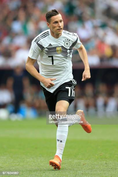Julian Draxler of Germany in action during the 2018 FIFA World Cup Russia Group F match between Germany and Mexico at the Luzhniki Stadium on June 17...