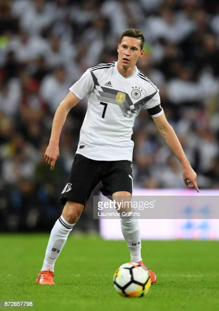 Julian Draxler of Germany in action during the International Friendly between England and Germany at Wembley Stadium on November 10 2017 in London...