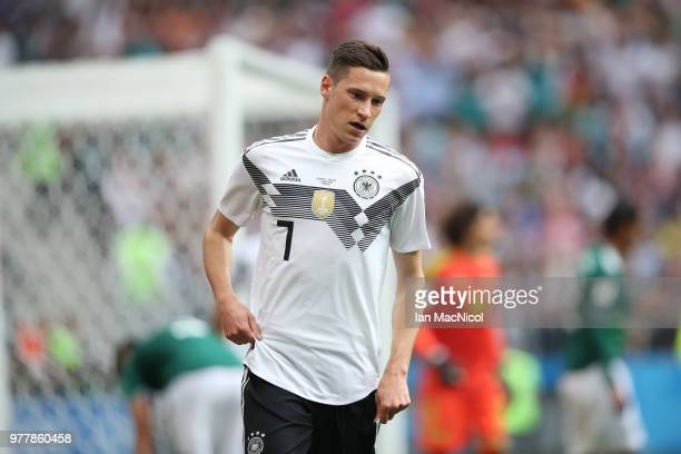 Julian Draxler of Germany is seen during the 2018 FIFA World Cup Russia group F match between Germany and Mexico at Luzhniki Stadium on June 17 2018...