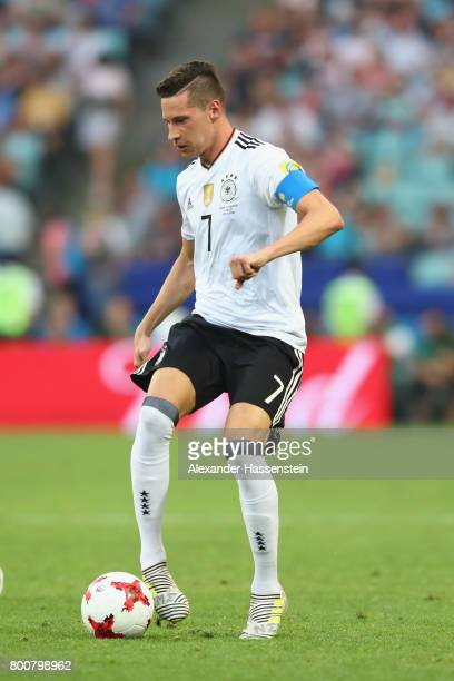 Julian Draxler of Germany runs with the ball during the FIFA Confederations Cup Russia 2017 Group B match between Germany and Cameroon at Fisht...