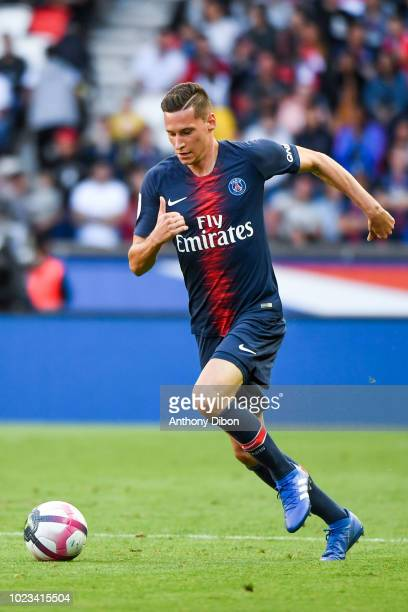 Julian Draxler of PSG during Ligue 1 match between Paris Saint Germain PSG and Angers on August 25 2018 in Paris France