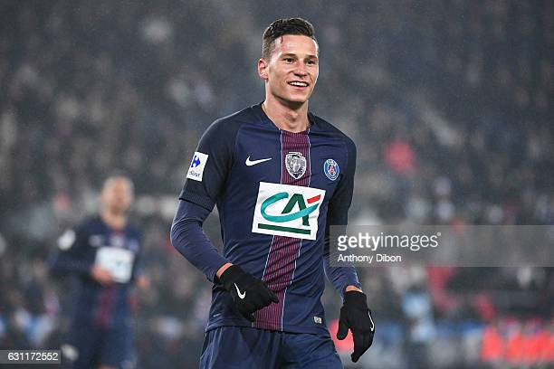 Julian Draxler of PSG during the French National Cup match between PSG and Sc Bastia round of 64 at Parc des Princes on January 7 2017 in Paris France