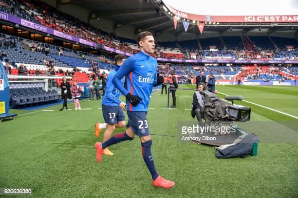 Julian Draxler of PSG during the Ligue 1 match between Paris Saint Germain and Metz at Parc des Princes on March 10 2018 in Paris