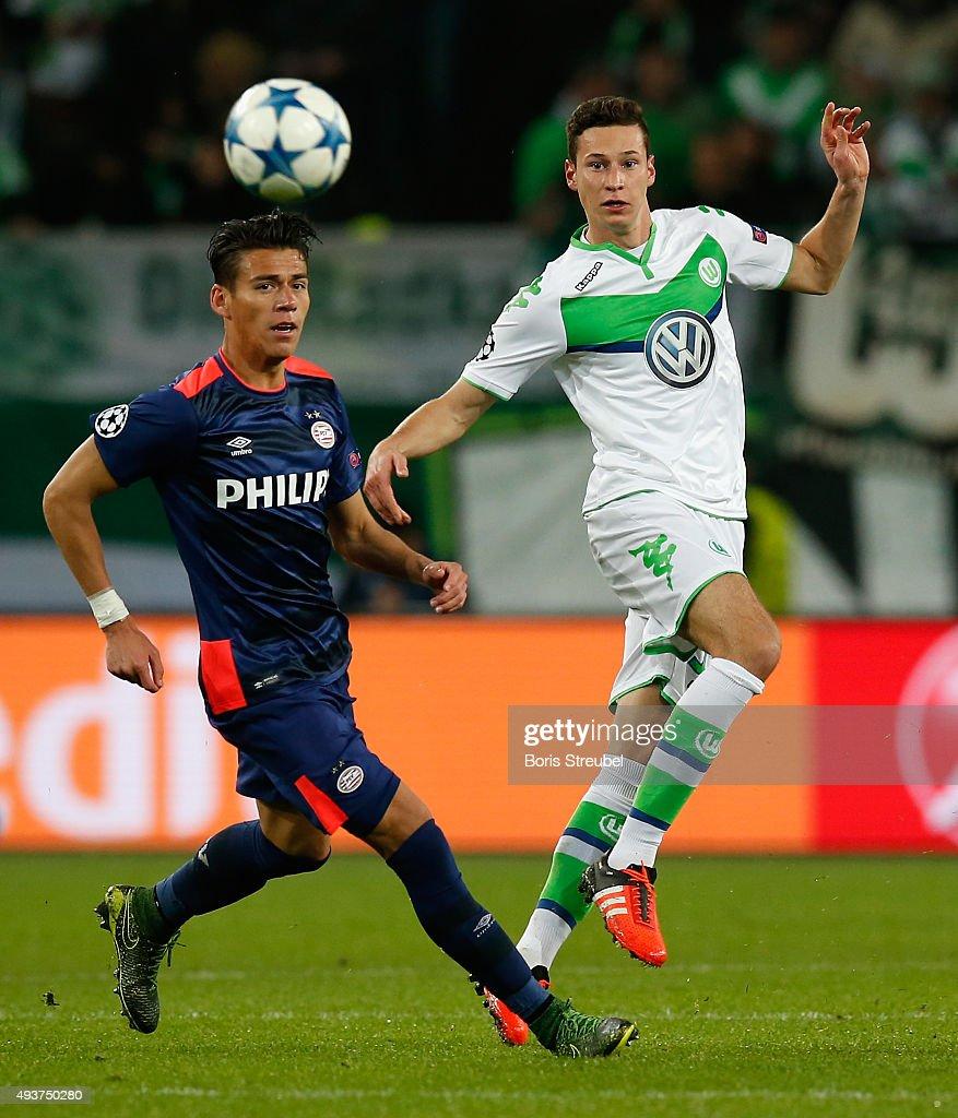 VfL Wolfsburg v PSV Eindhoven - UEFA Champions League : News Photo