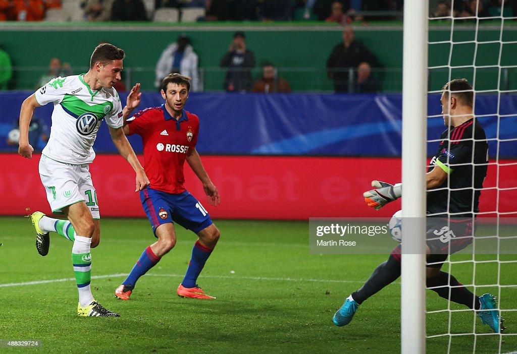 VfL Wolfsburg v PFC CSKA Moskva - UEFA Champions League