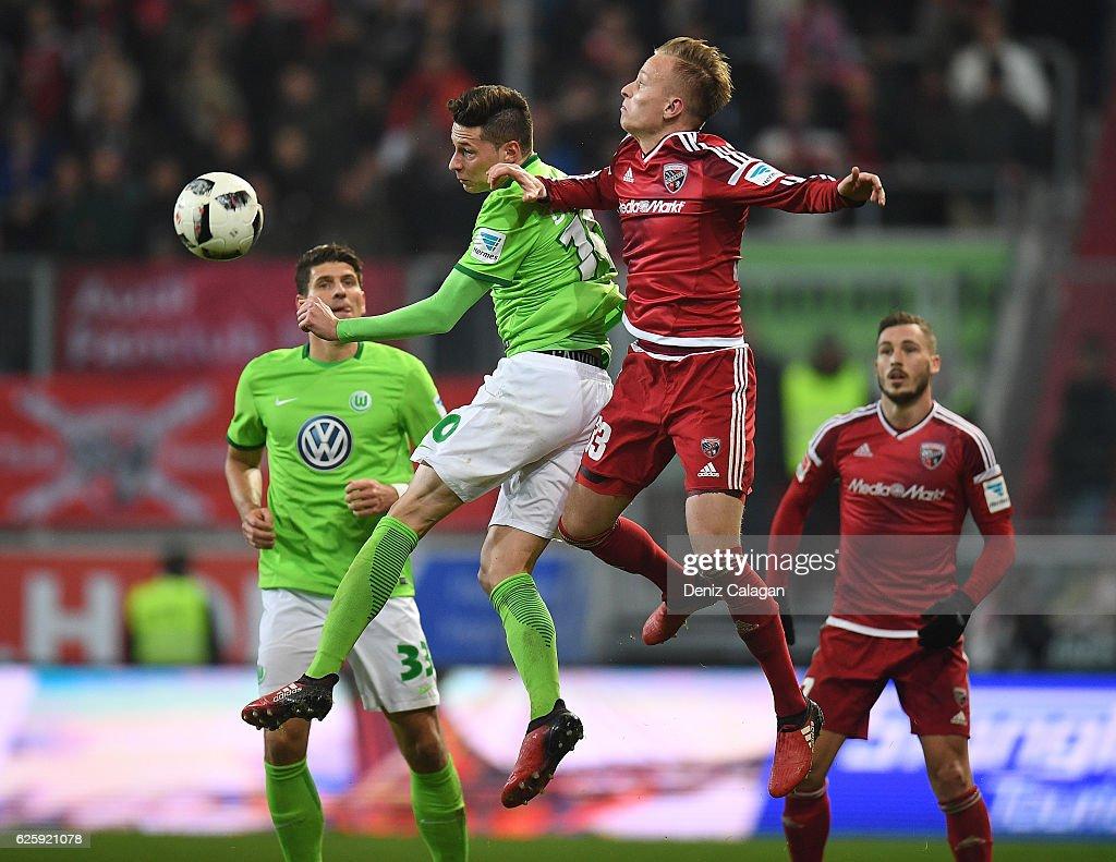 FC Ingolstadt 04 v VfL Wolfsburg - Bundesliga : News Photo