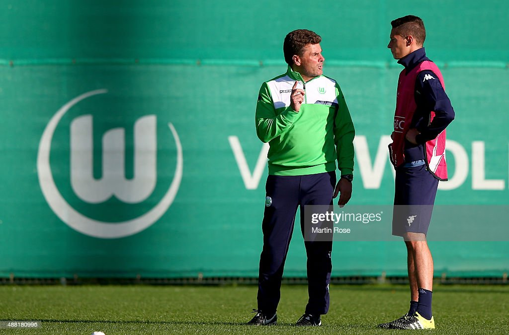 VfL Wolfsburg - Training & Press Conference
