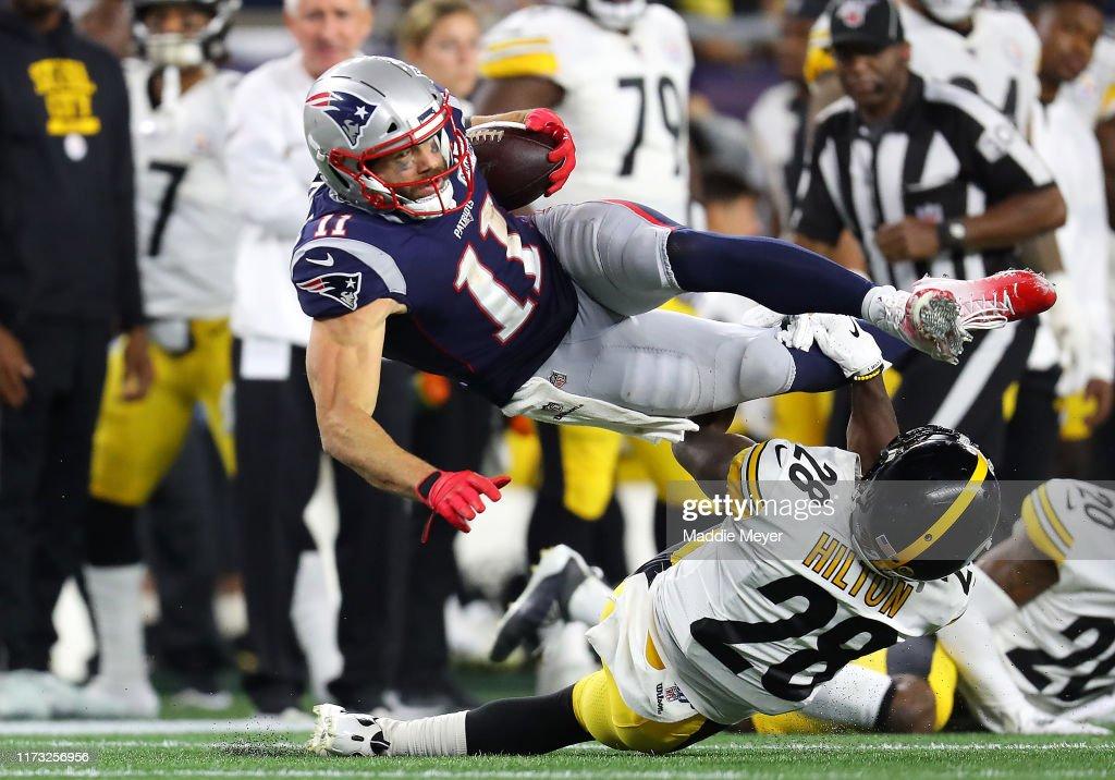 Pittsburgh Steelers vNew England Patriots : Fotografía de noticias