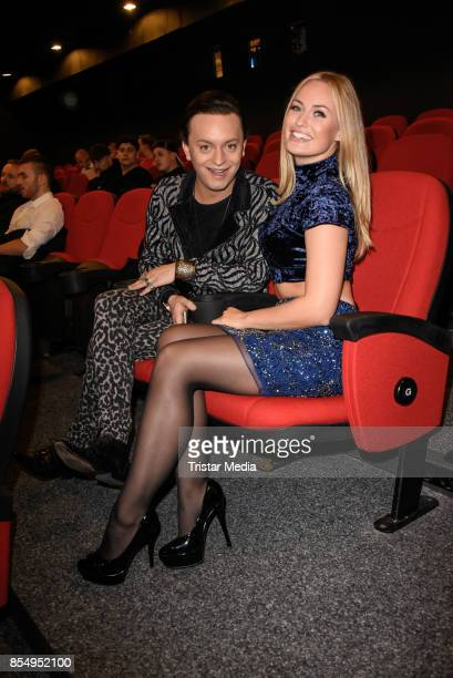 Julian F M Stoeckel and Anne Julia Hagen attend the Serienale Opening on September 27 2017 in Berlin Germany