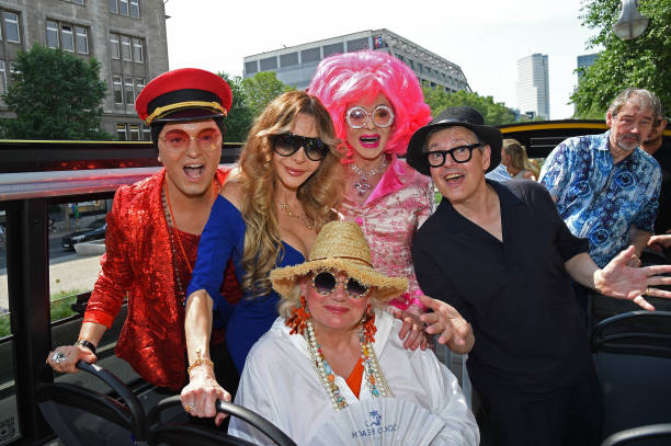"DEU: ""Stromma x Julian F.M. Stoeckel"" Celebrity Bus Tour To Launch Berlin Touristic Season"
