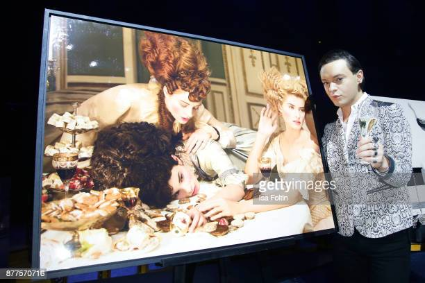 Julian F M Stoeckel during the presentation of the new Lambertz calendar 2018 at Friedrichstadtpalast on November 22 2017 in Berlin Germany
