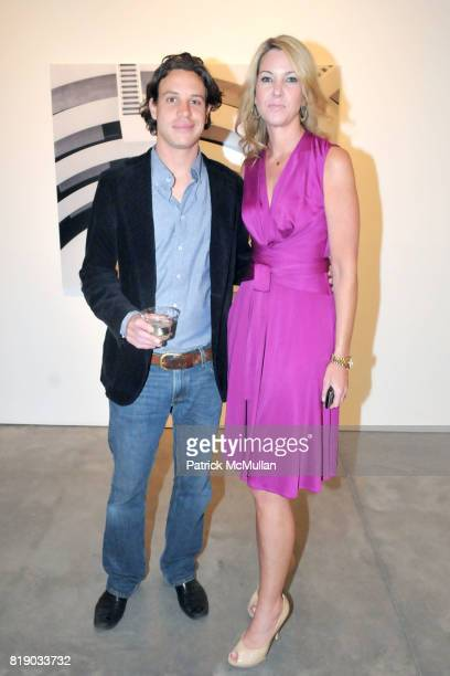 Julian Faulhaber and Sarah Hasted attend JULIAN FAULHABER's Artist Reception at Hasted Hunt Kraeutler Gallery on May 6th 2010 in New York City