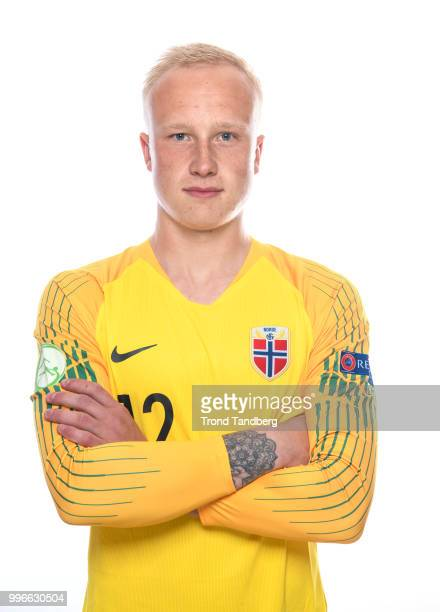 Julian Faye Lund of Norway during G19 Men Photocall at Thon Arena on July 11 2018 in Lillestrom Norway