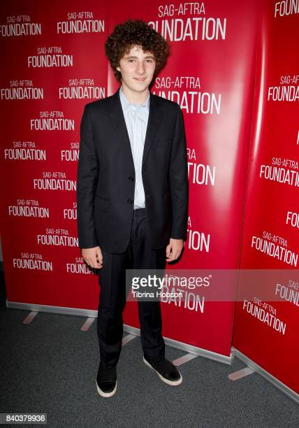 Julian Feder attends the SAGAFTRA Foundation Conversations with 'A Boy Called Po' at SAGAFTRA Foundation Screening Room on August 28 2017 in Los...