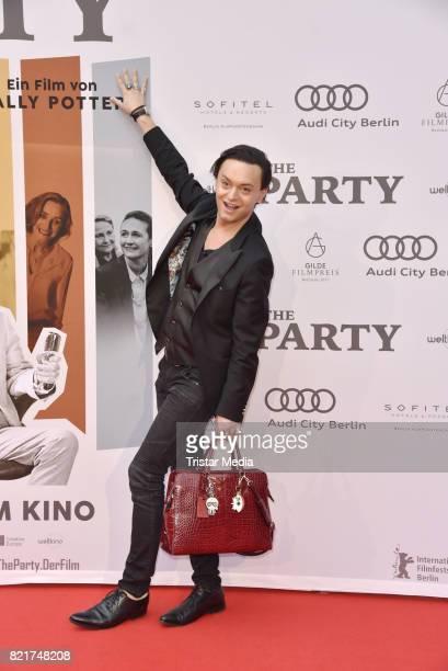 Julian FM Stoeckel attends sthe premiere of 'The Party' on July 24 2017 in Berlin Germany