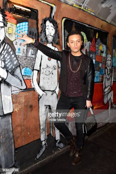 Julian FM Stoeckel during the Matthias Maus Fashion Show on January 17 2018 in Berlin Germany