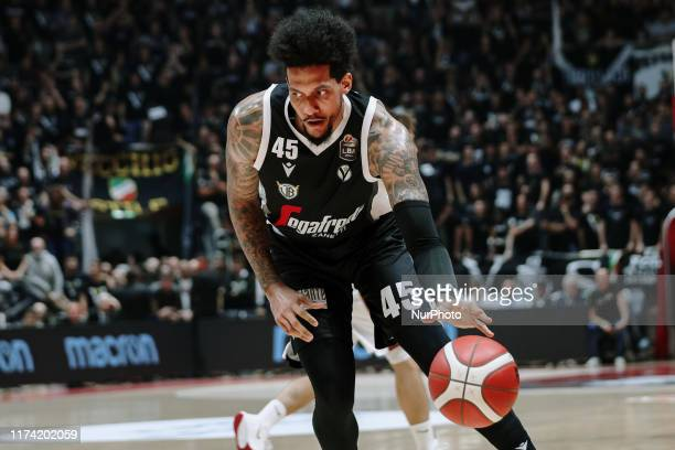 Julian Gamble during the Italy Lega Basket of Serie A match between Segafredo Virtus Bologna and Umana Reyer Venezia at PalaDozza on October 6 2019...