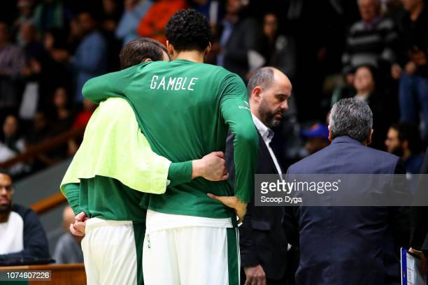 Julian Gamble of JSF Nanterre 92 during the Jeep Elite match between Nanterre and Le Portel at Palais des Sports Maurice Thorez on December 22 2018...