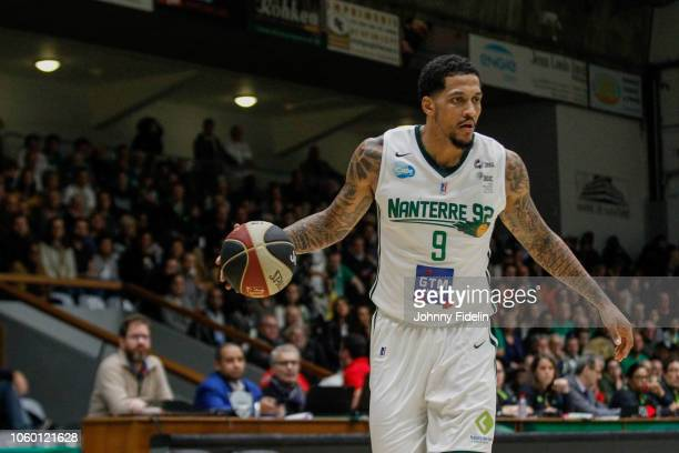 Julian Gamble of Nanterre during the Jeep Elite match between Nanterre and Provence on November 10 2018 in Nanterre France