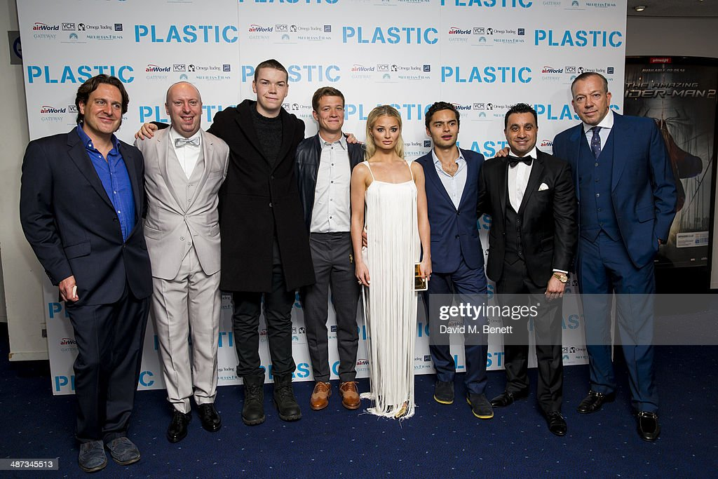 """Plastic"" - UK Premiere - Inside Arrivals"