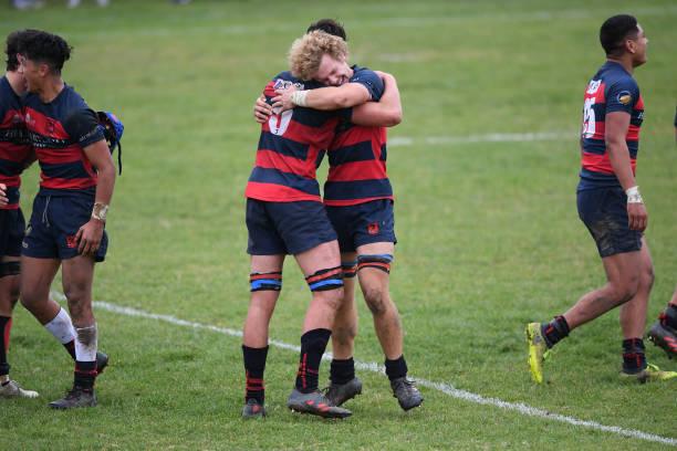 NZL: Schools Super 8 Rugby - Napier Boys High v Hastings Boys High
