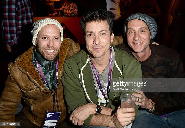 Julian Goldstein Director Will Allen and Brian Mahan attends the New Frontier Party For Filmmakers during the 2016 Sundance Film Festival at New...