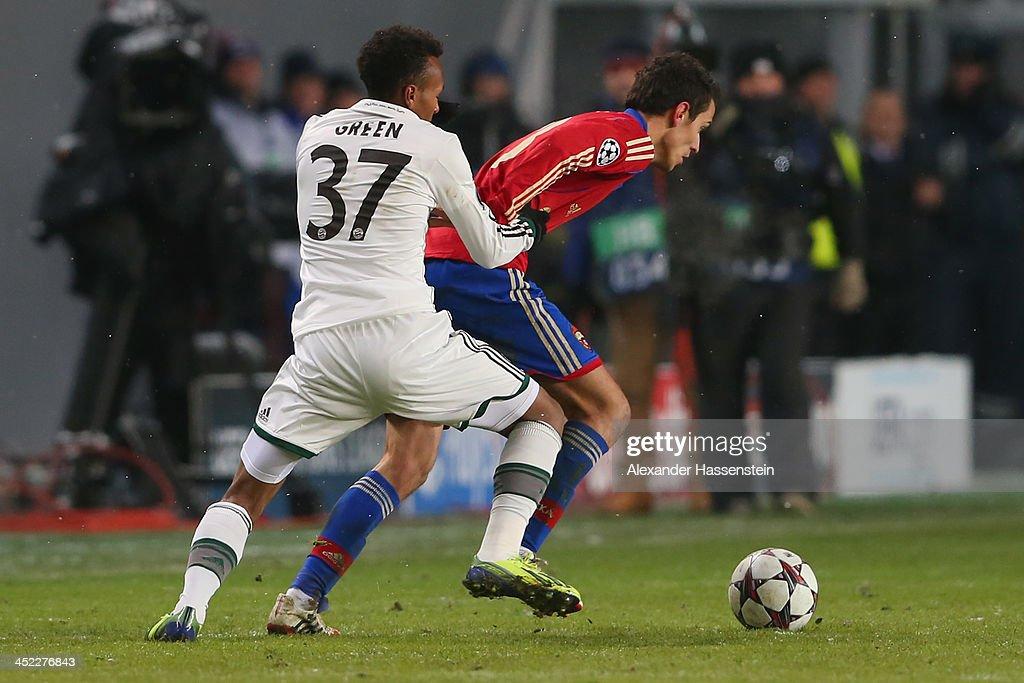 PFC CSKA Moskva v FC Bayern Muenchen - UEFA Champions League : News Photo