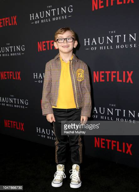 Julian Hilliard attends Netflix's The Haunting of Hill House Premiere at Arclight Hollywood on October 8 2018 in Hollywood California