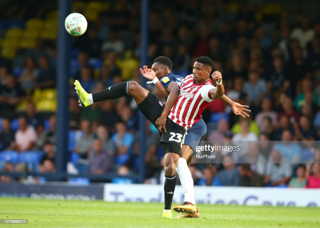 Southend United v Brentford -  Carabao Cup First Round